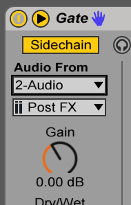 sidechain settings