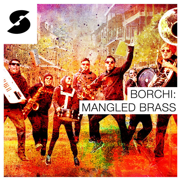 Borchi: Mangled Brass sample pack artwork